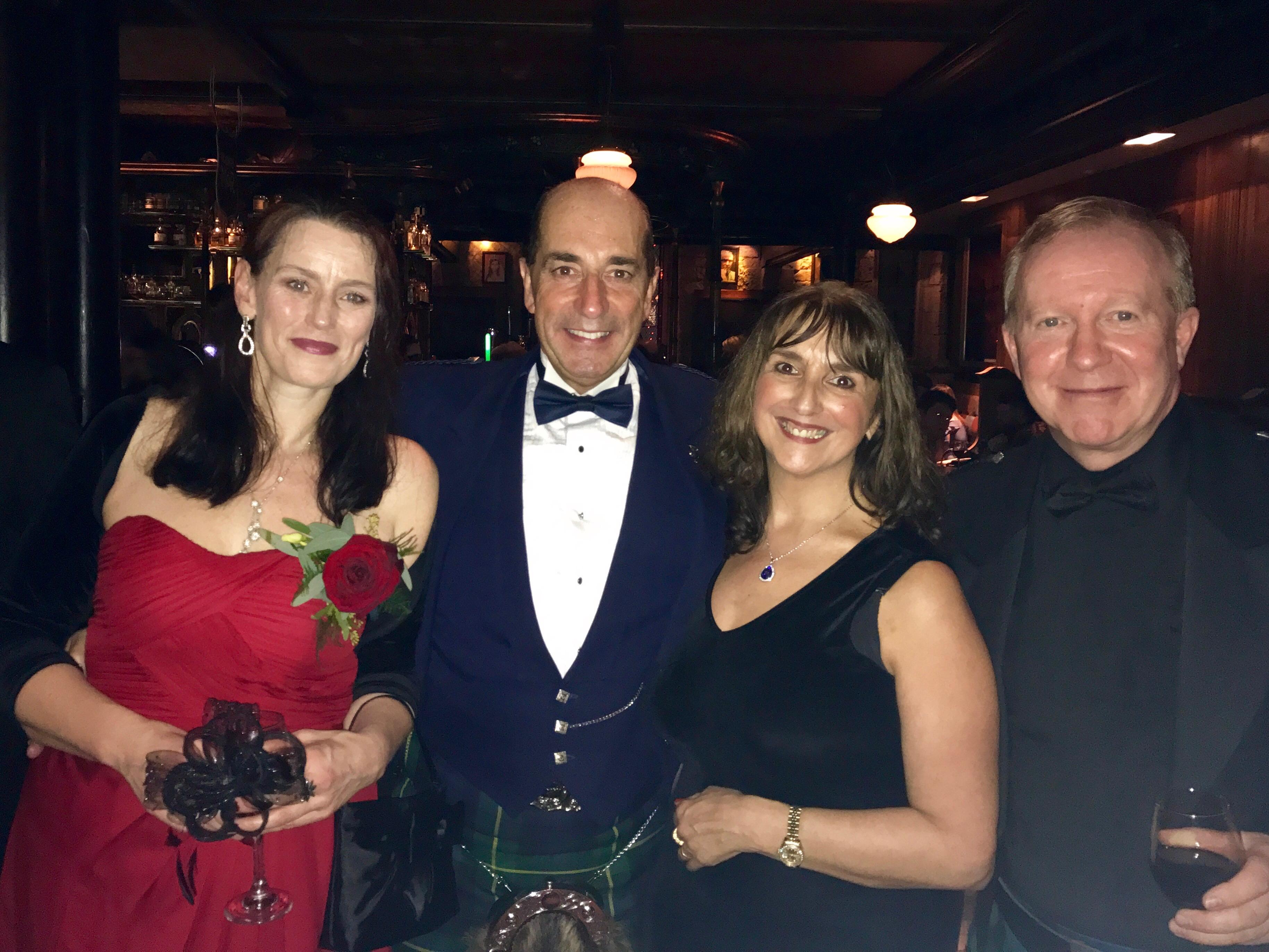 Royalty Burns' Club, Glasgow Keara Murphy, Iain Gordon, Gary Louttit